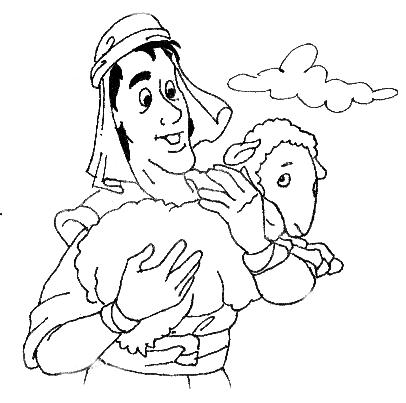 lost sheep parable coloring pages - photo#21