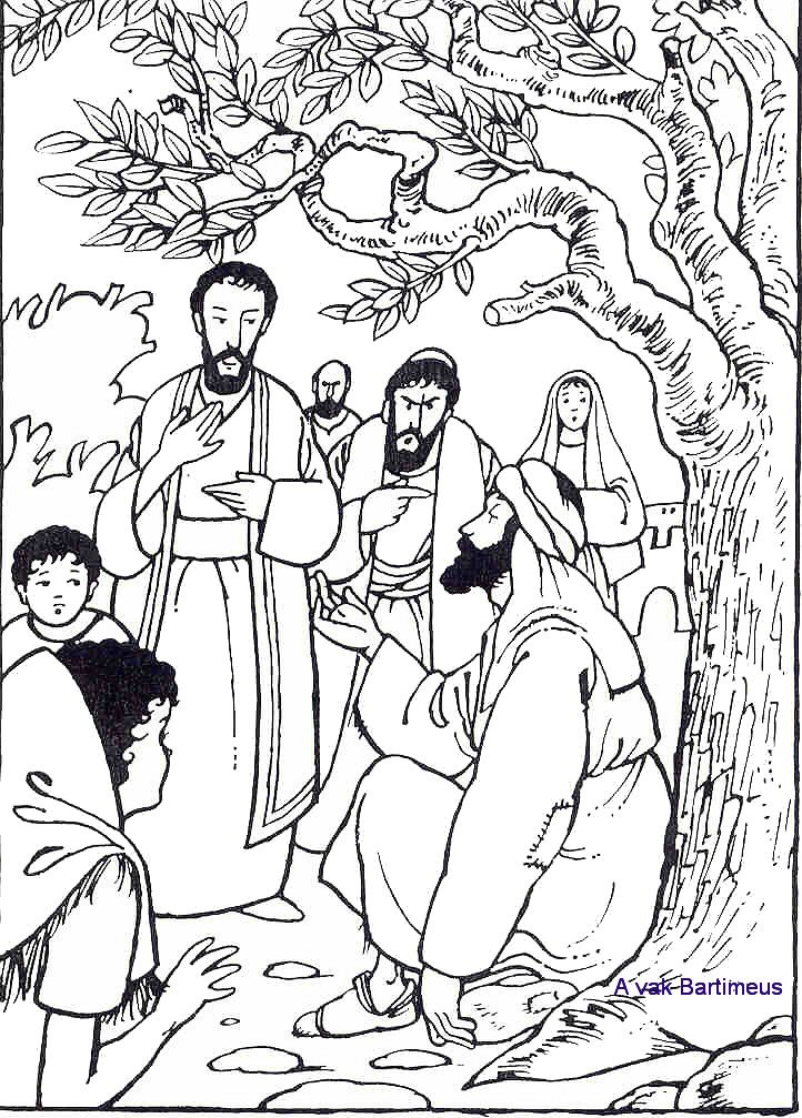 Free Miracles Of Jesus Coloring Pages