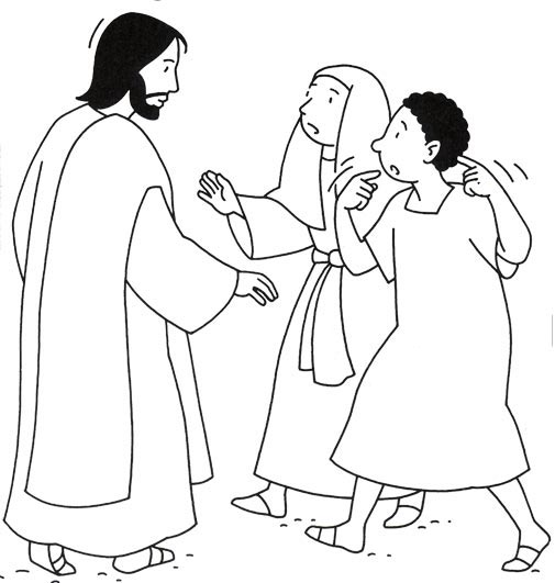 coloring pages for the deaf - photo#21