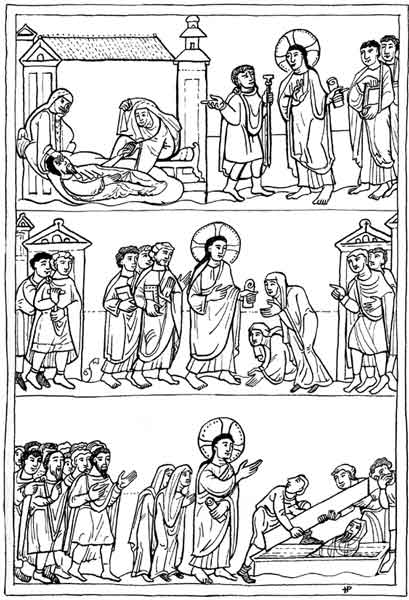 Free coloring pages of jesus raises