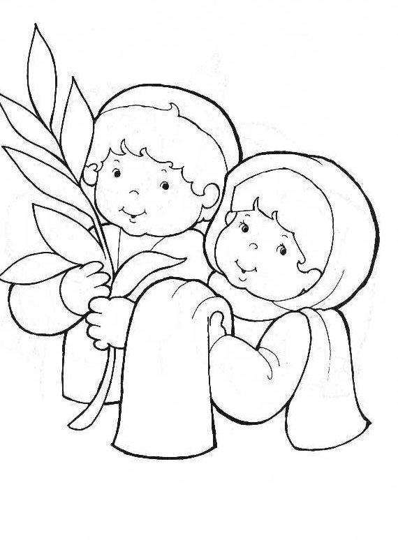 Palm Sunday Triumphal entry into