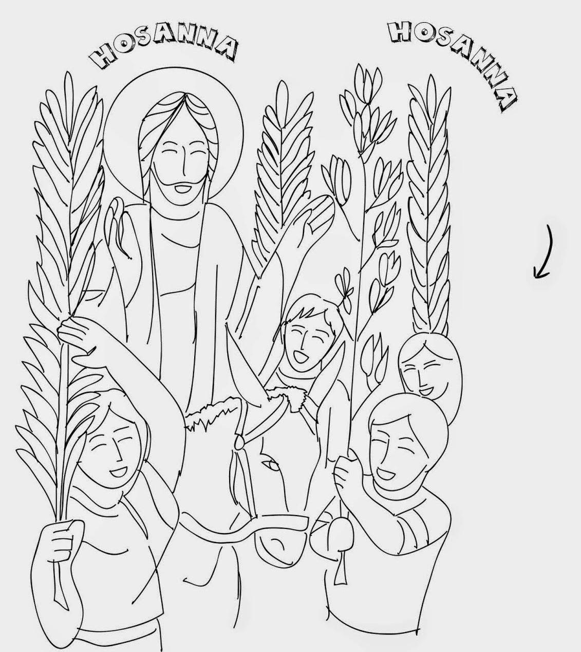 Palm Sunday Triumphal Entry Into Jerusalem