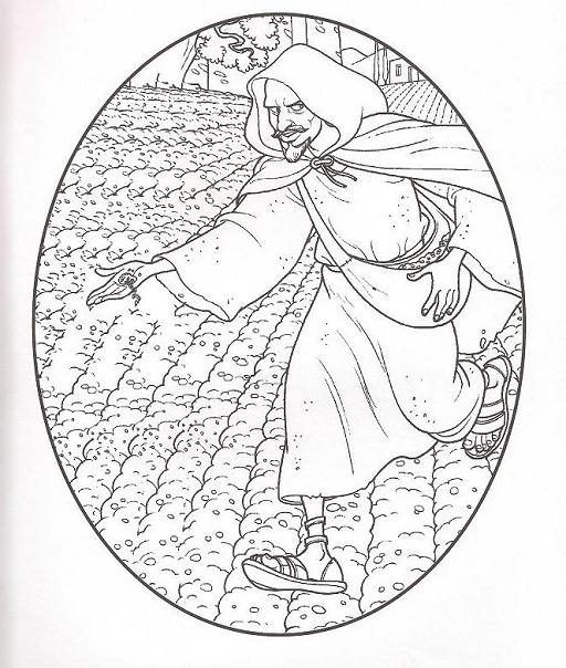 parables coloring pages - photo#31