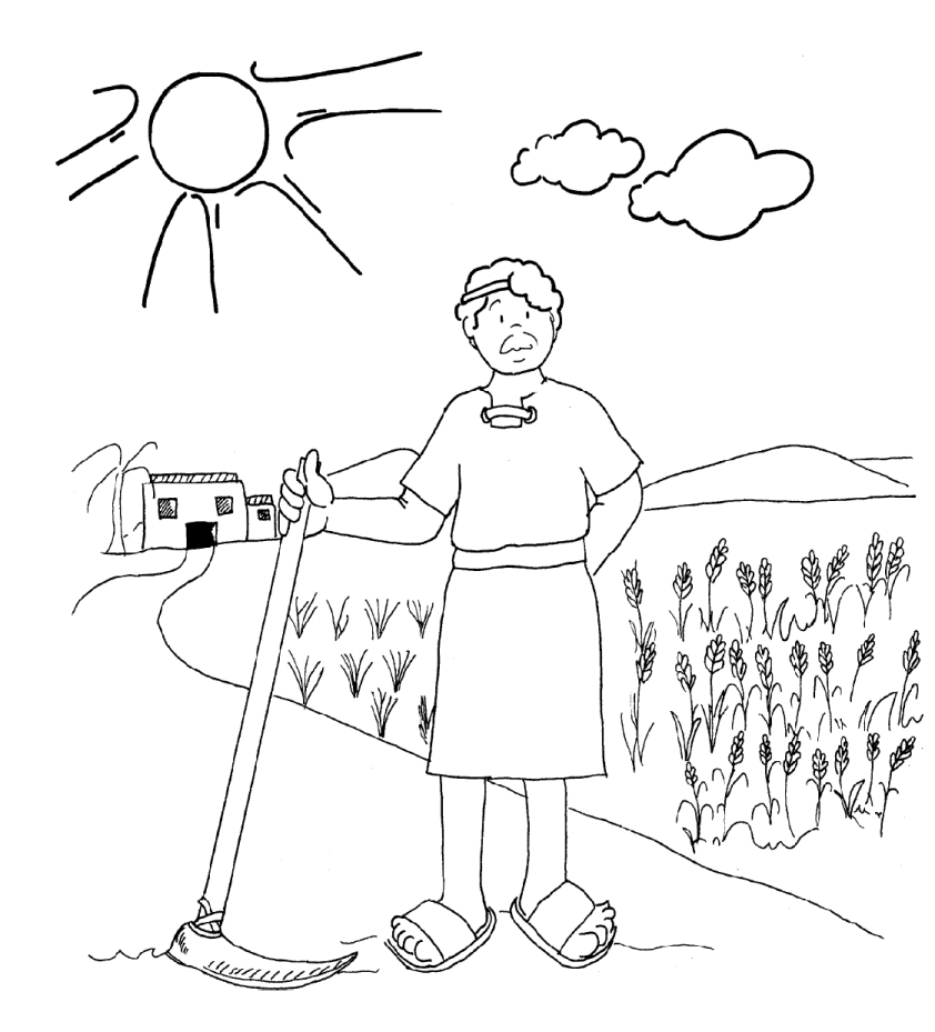 naboths vineyard coloring pages - photo#18
