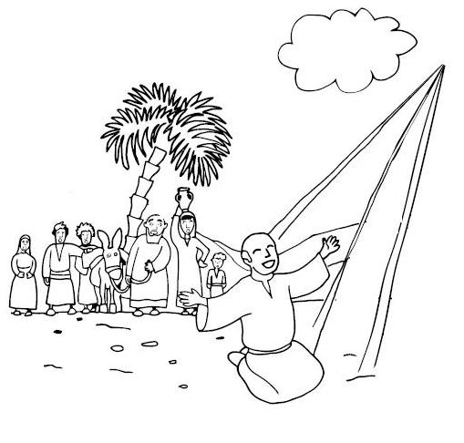 ananias and saul coloring pages | Saul Conversion Coloring Pages Bible Coloring Pages