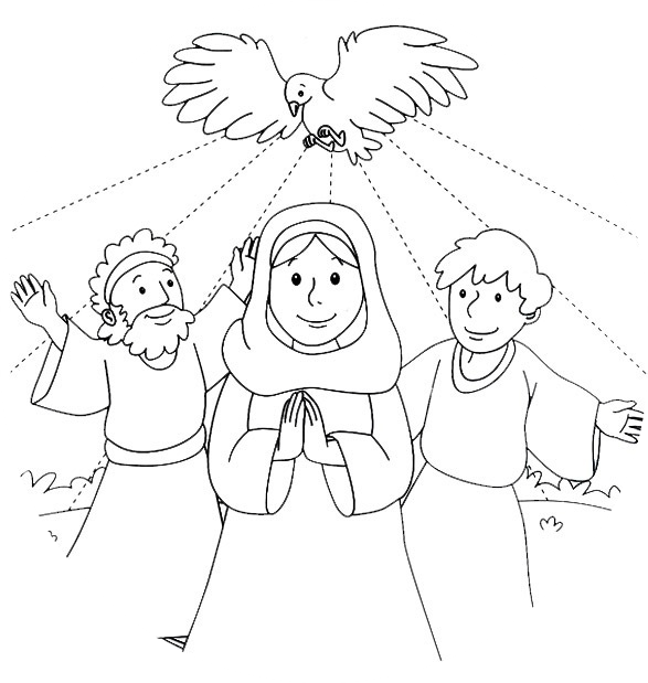 pentecost coloring page 28 images pentecost coloring pages for