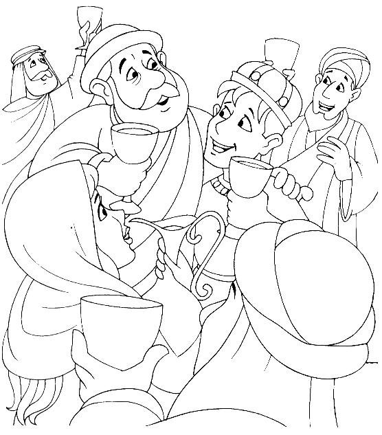 prodigal son coloring pages - photo#7