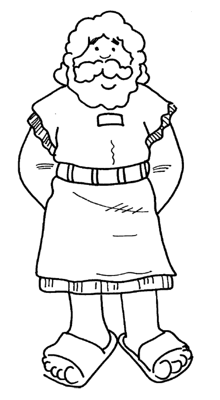 simon peter coloring pages - photo#1