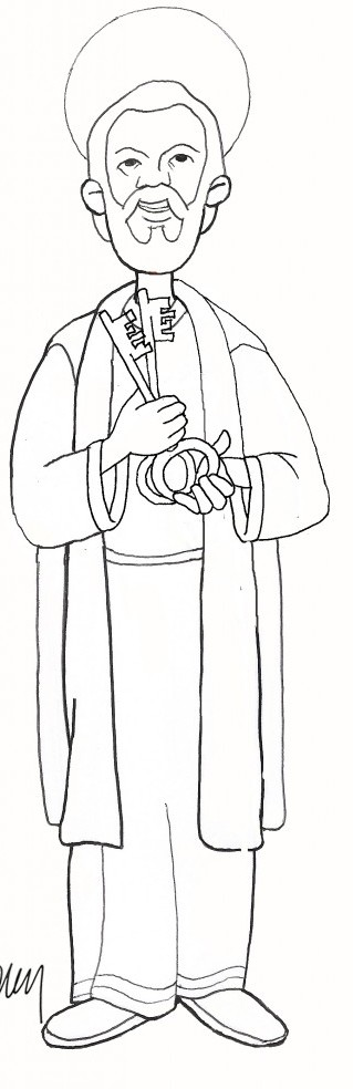 simon peter coloring pages - photo#7