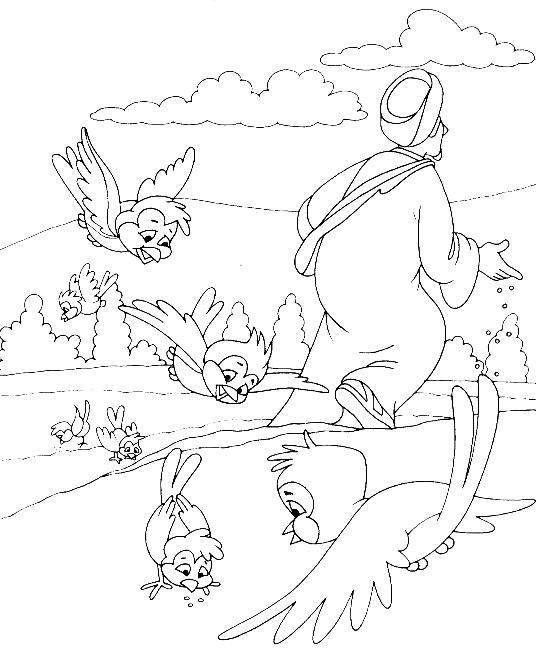 naboths vineyard coloring pages - photo#27
