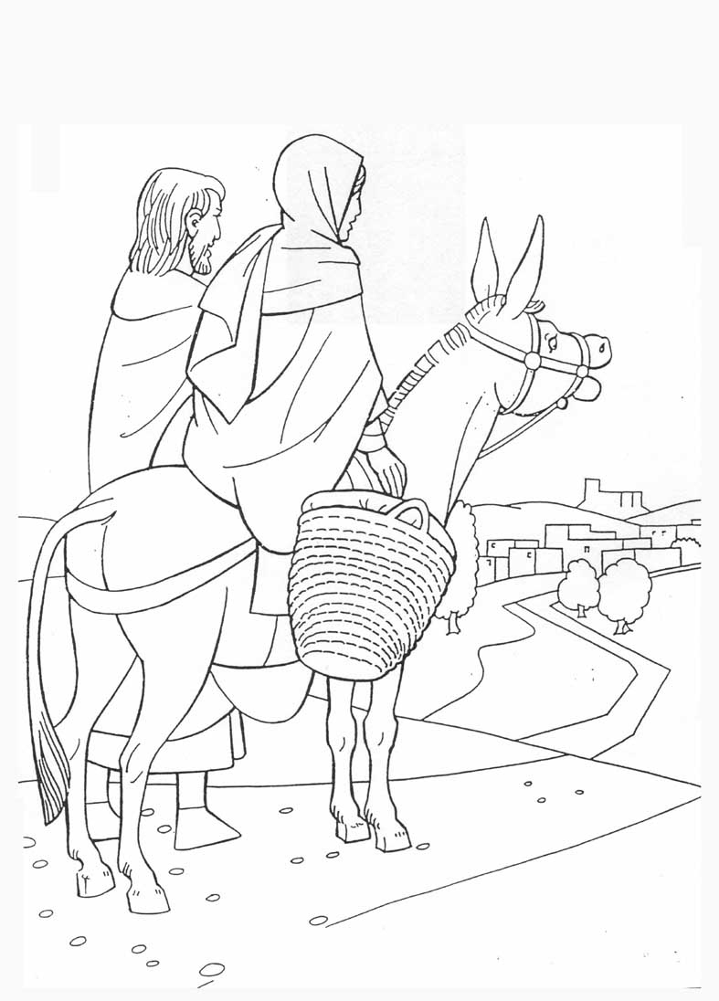 Coloring sheet mary and joseph bethlehem - Coloring Sheet Mary And Joseph Bethlehem 36
