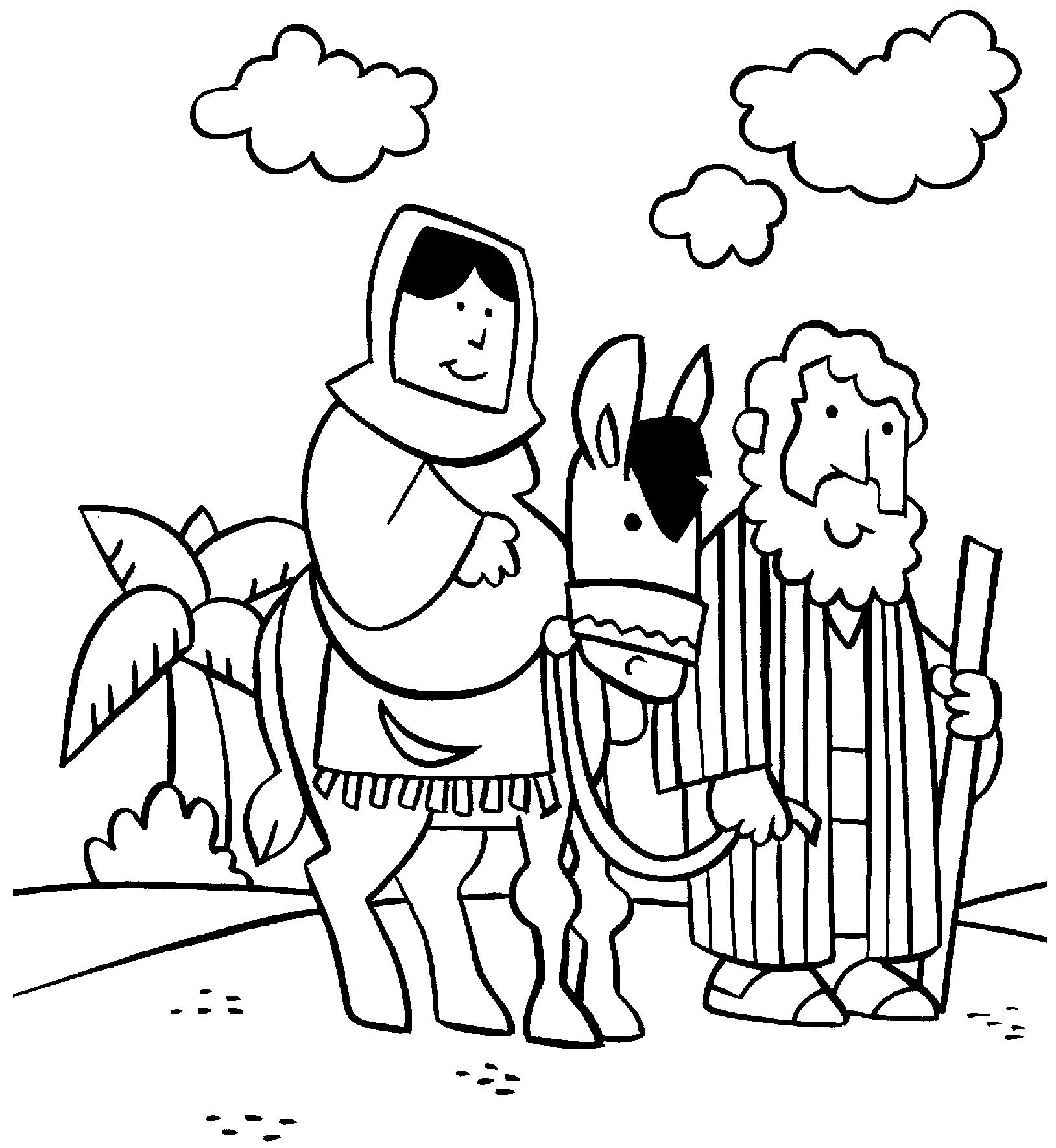 Coloring sheet mary and joseph bethlehem - Coloring Sheet Mary And Joseph Bethlehem 19