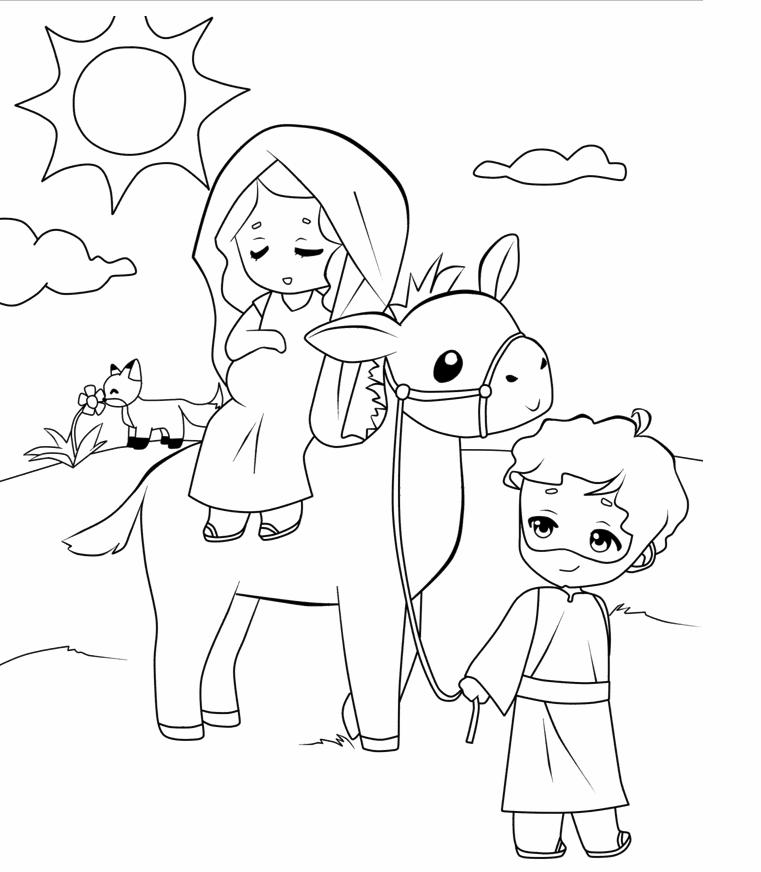 Mary and Joseph Travel to Bethlehem Travel to Bethlehem