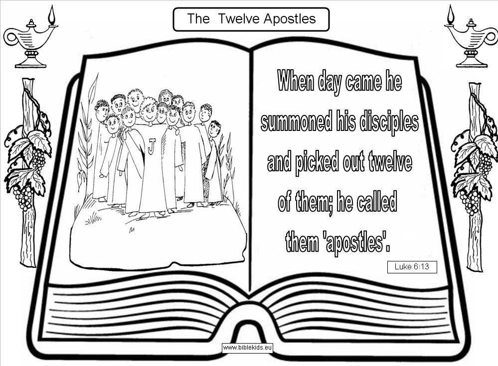 Apostle Creed Coloring Pages