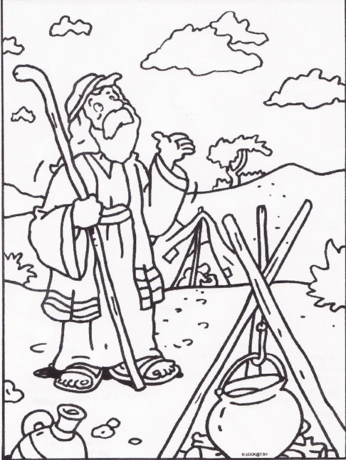 Free Coloring Pages Of Abraham And God Abraham And Coloring Pages