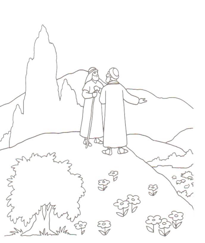 Bible story printable mazes  dltkbiblecom