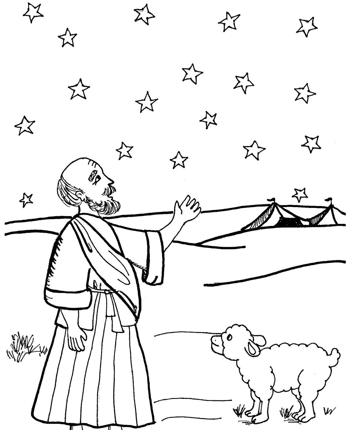 the old testament coloring pages - photo#27