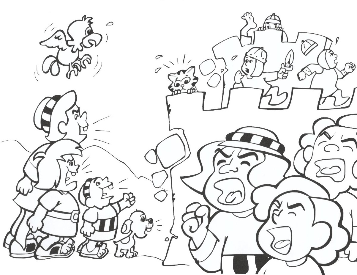 jericho coloring pages - photo#6