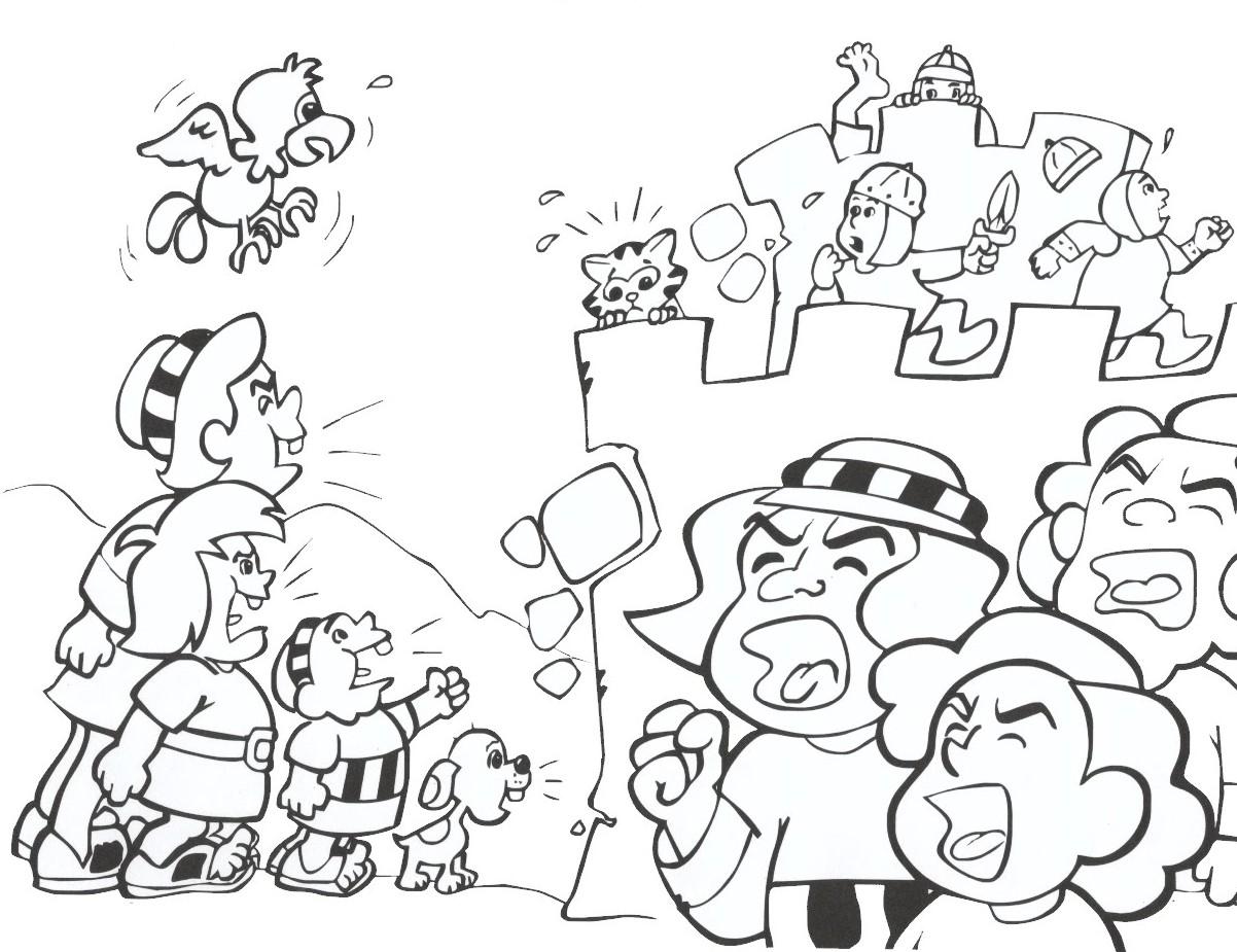 Jericho Jericho coloring page