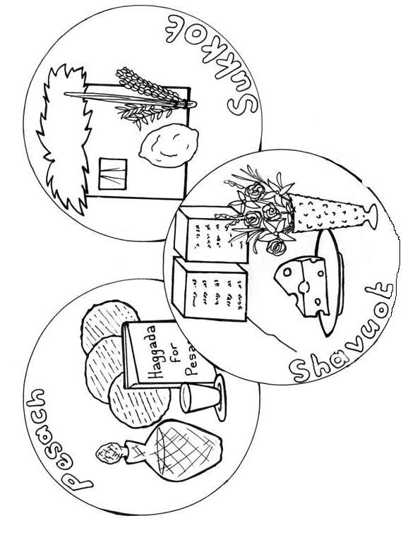 Shabbat Coloring Pages Printable