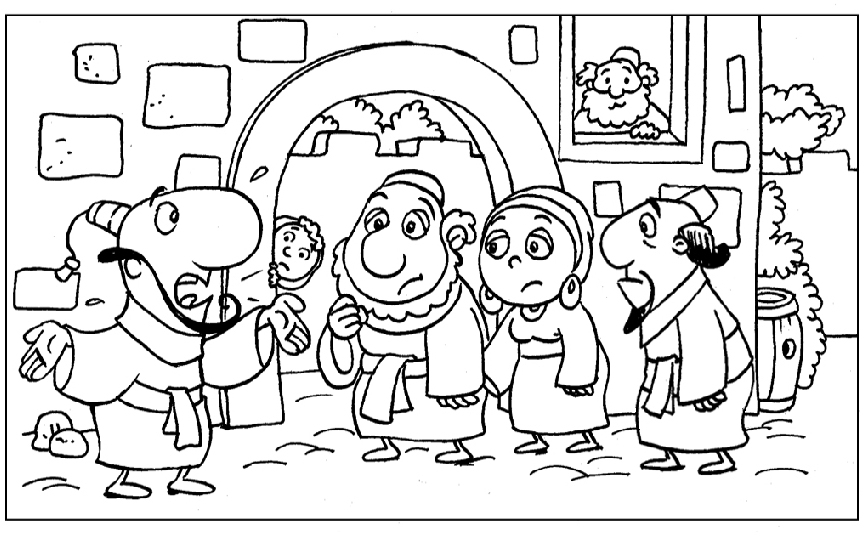 bible coloring pages jonah - photo#32