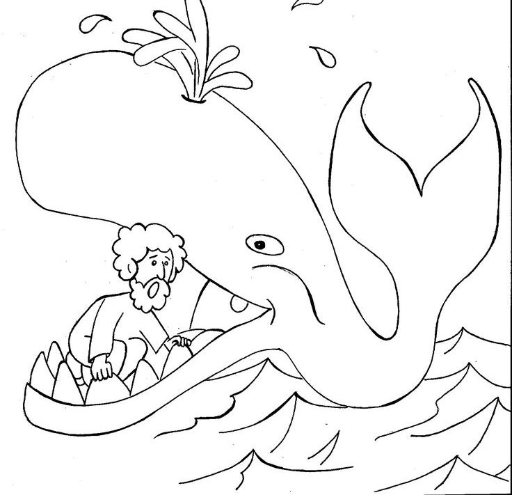 childrens bible coloring pages jonah - photo#22