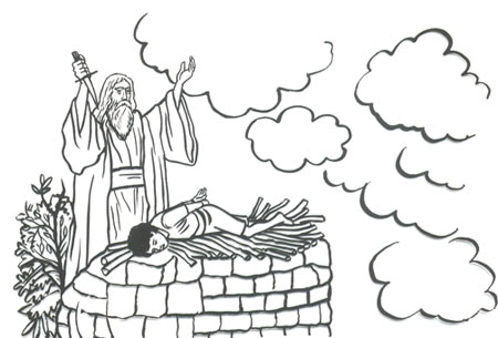 Father Abraham Bible Coloring Pages