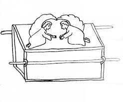 coloring pages ark of the covenant | Ark of the Covenant