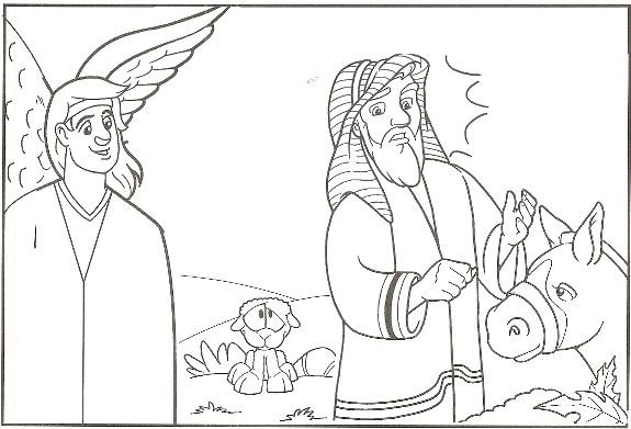 Balaam   Balaam\'s Donkey   Balaam and the Angel