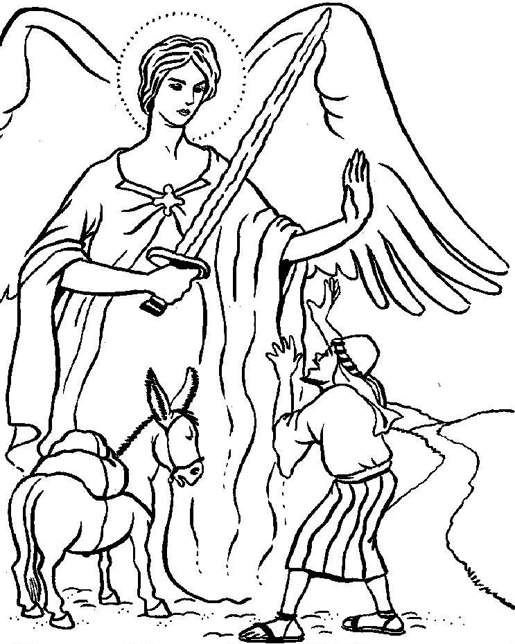 Balaam | Balaam\'s Donkey | Balaam and the Angel