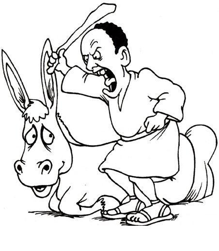 Balaam | Balaam\'s Donkey | Balaam and the Angel