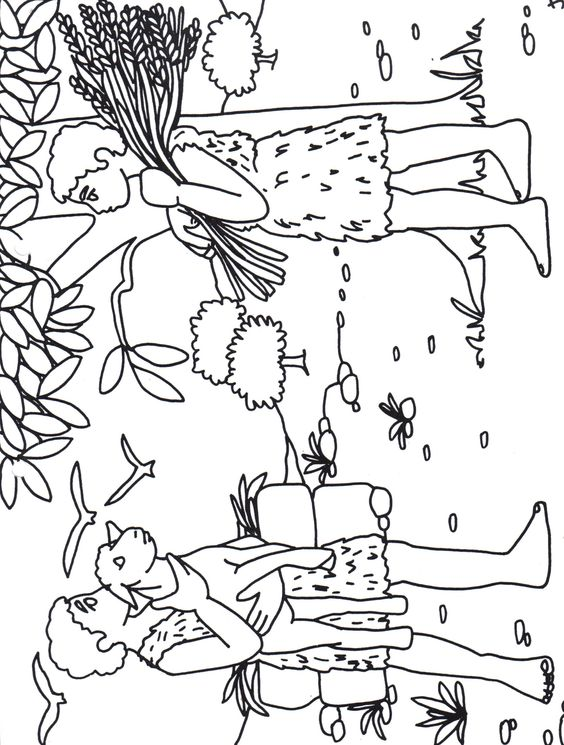 cain and abel coloring pages - photo#43