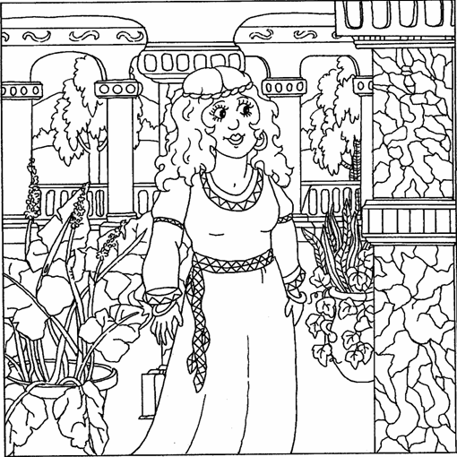 Best Coloring Pages Esther Queen Bible Photos - Triamterene.us ...