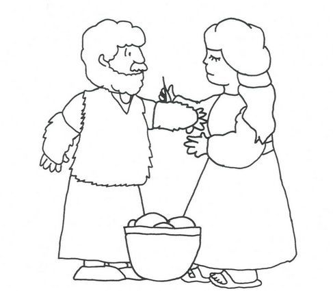 Jacob the patriarch for Jacob and esau reunite coloring page
