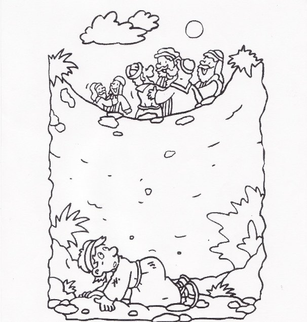 josephs dream coloring pages - photo#30