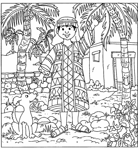Free Coloring Pages Of Joseph Coat Colors