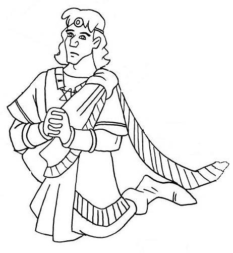 King Solomon Solomon King Solomon Coloring Pages