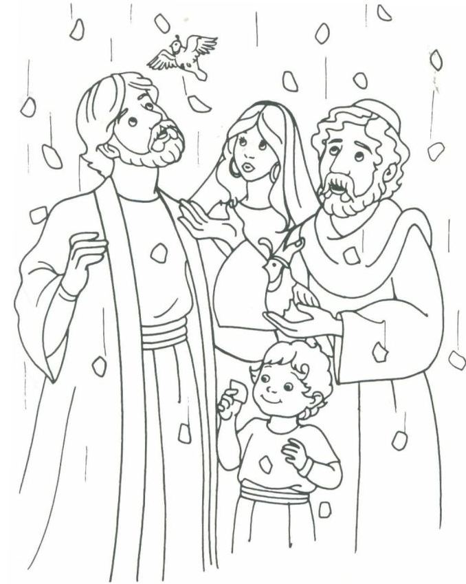 1000 Images About Mo 239 Se On Pinterest Baby Moses Ten Testament Coloring Pages