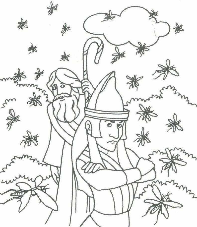 Lambsongs bible story books lots of mini books that can for Bible coloring pages moses