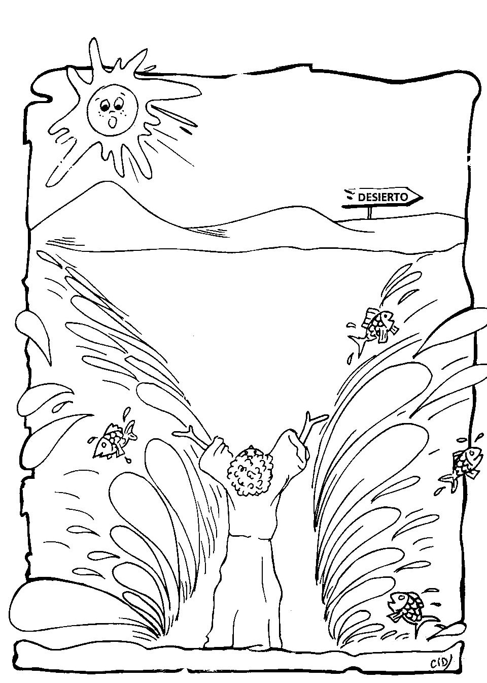 89 Bible Coloring Pages Moses