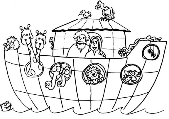 Free Coloring Pages Of Animals Of Noah