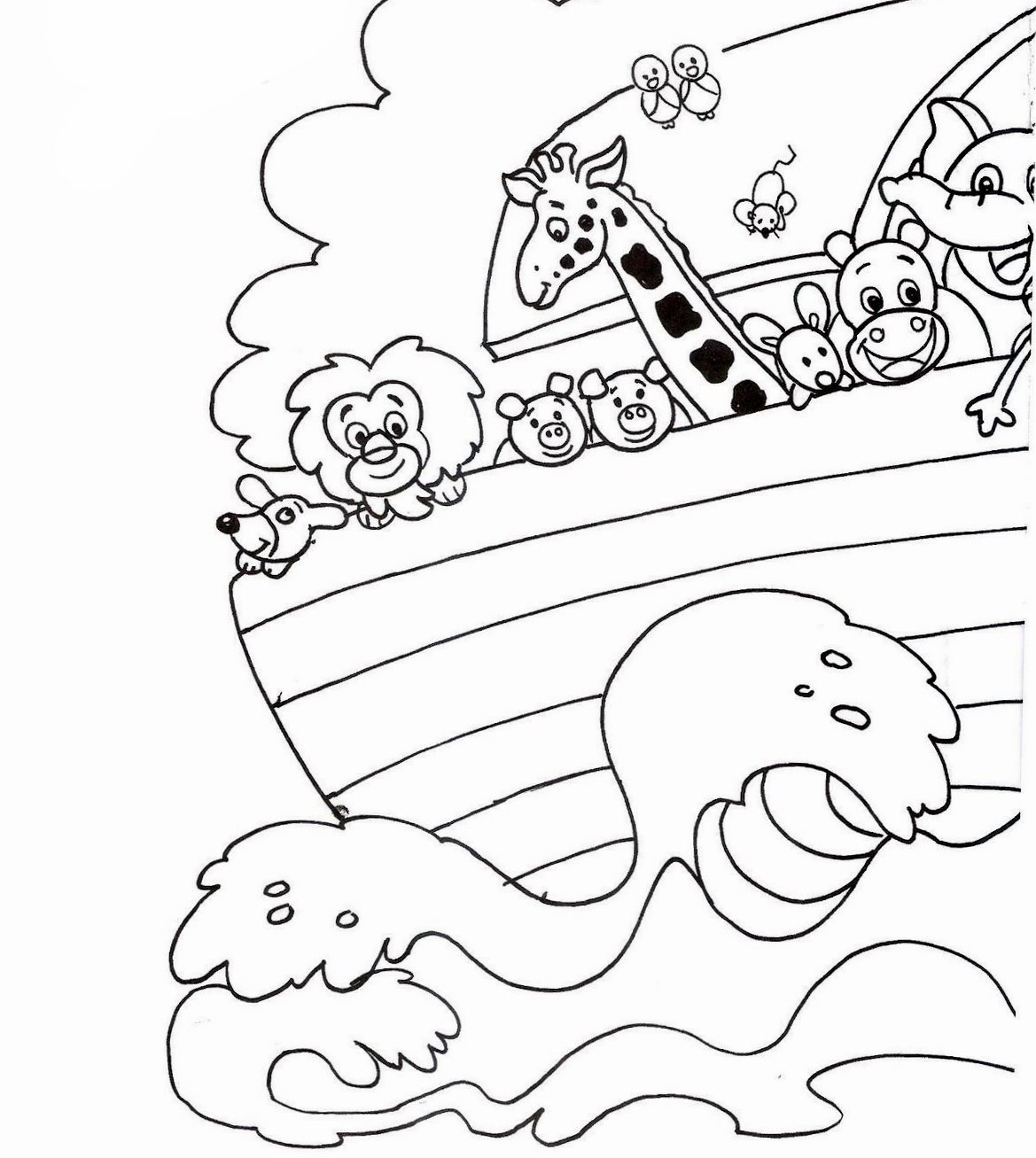 An analysis of the story of noahs ark from the old testament