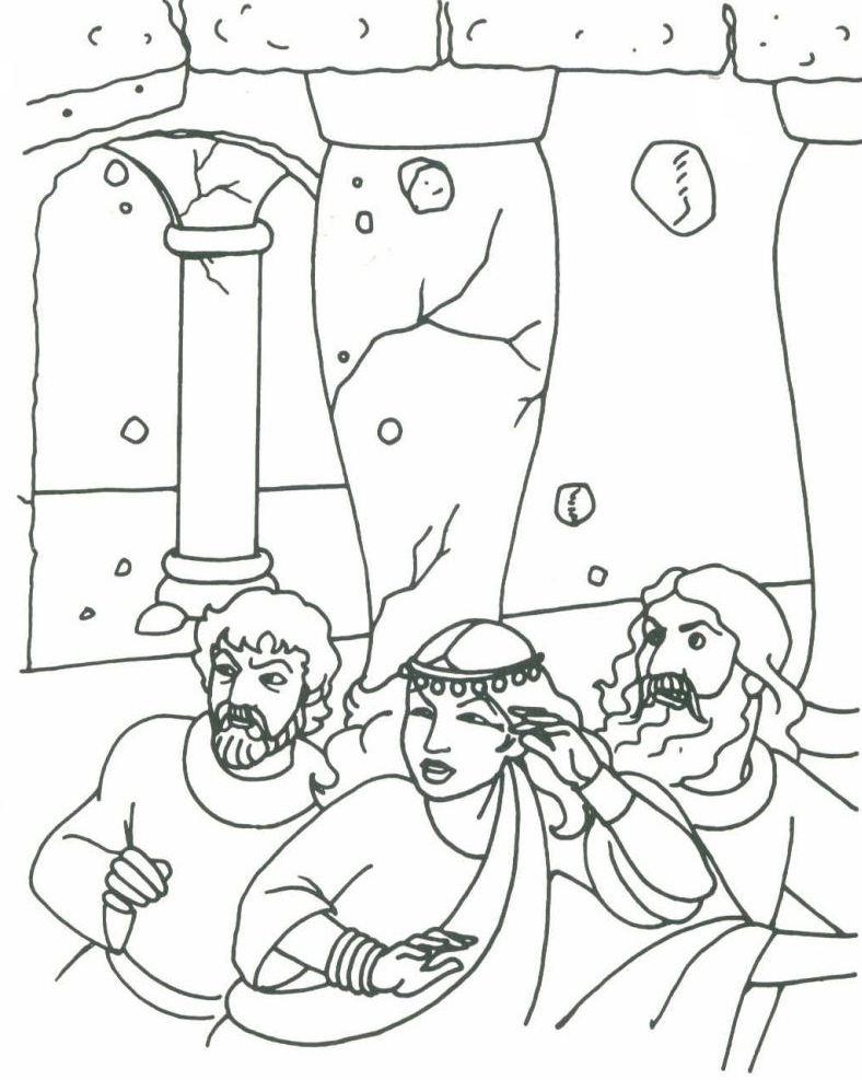 samson samson judge of israel - Samson Delilah Coloring Pages