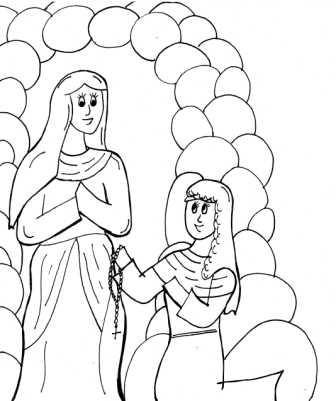 Saints Coloring Pages - Printable Catholic Saints