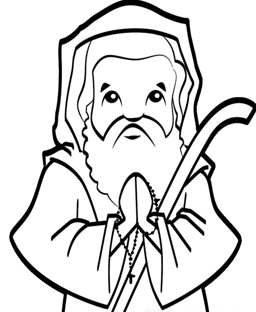 st sebastian coloring pages - photo#18