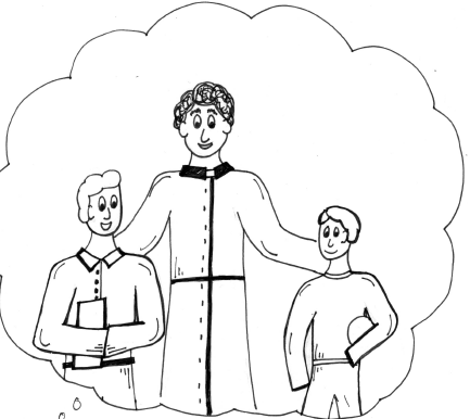 St john bosco coloring page pictures to pin on pinterest for Saint dominic savio coloring page