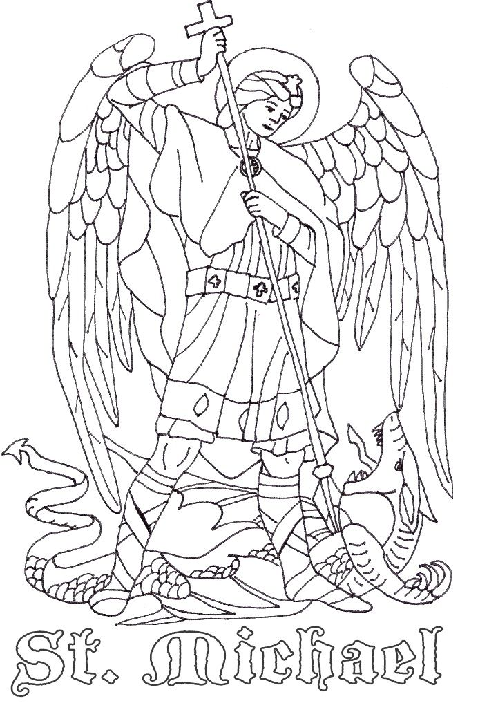 Saints Coloring Pages - Printable Catholic Saints