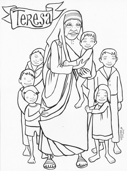Saints Coloring Pages Printable