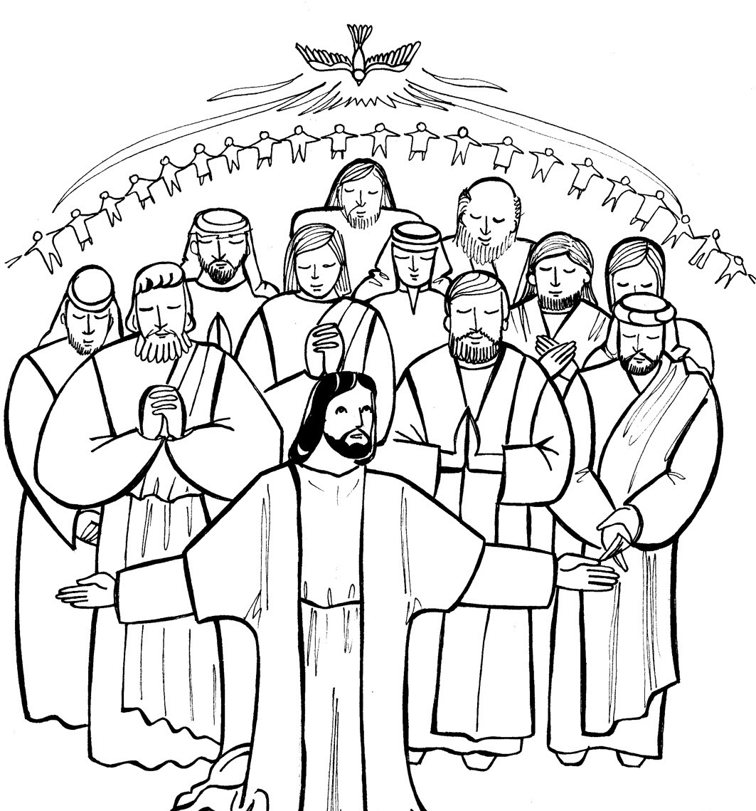 free catholic bible coloring pages - photo#32