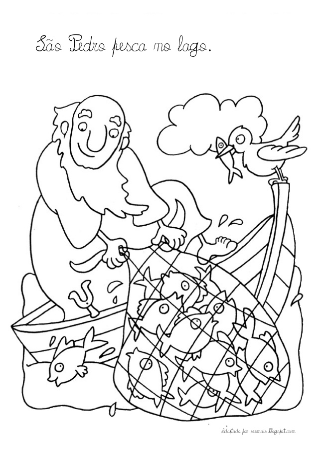 st peter coloring pages - photo#18